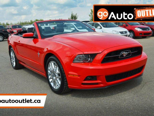 2014 ford mustang v6 premium red go auto outlet. Black Bedroom Furniture Sets. Home Design Ideas