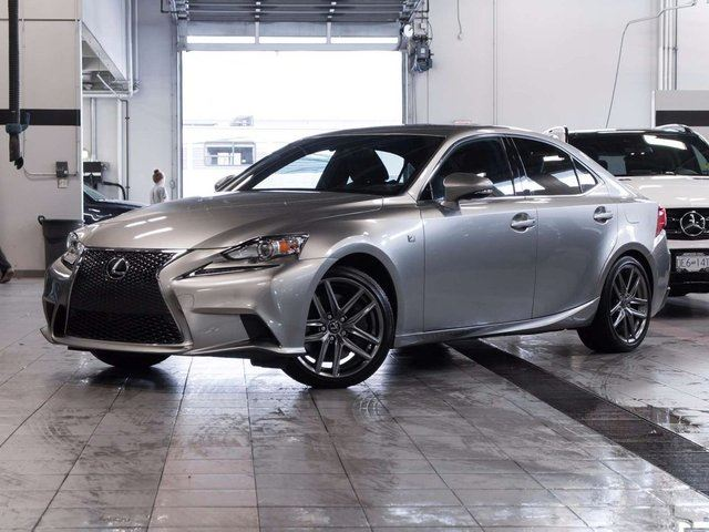 2016 lexus is 300 awd f sport series 2 silver auto loan. Black Bedroom Furniture Sets. Home Design Ideas