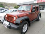 2014 Jeep Wrangler Unlimited Sport in Kamloops, British Columbia