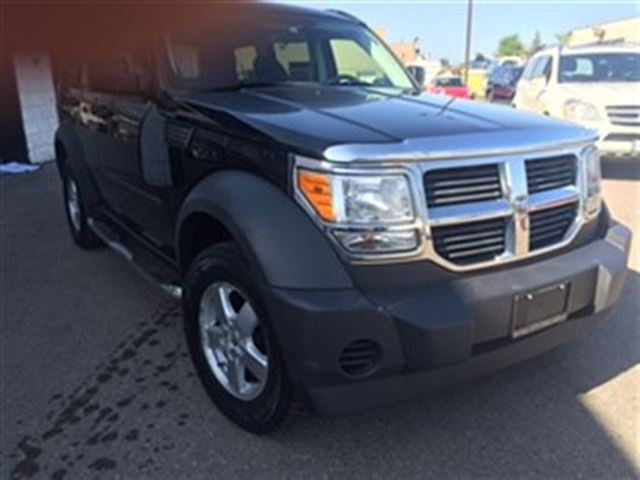 2007 dodge nitro se sxt 4x4 lock guelph ontario used. Black Bedroom Furniture Sets. Home Design Ideas