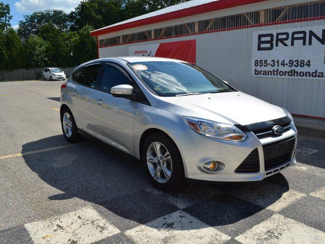 2013 ford focus se 4dr hatchback silver brantford honda. Black Bedroom Furniture Sets. Home Design Ideas