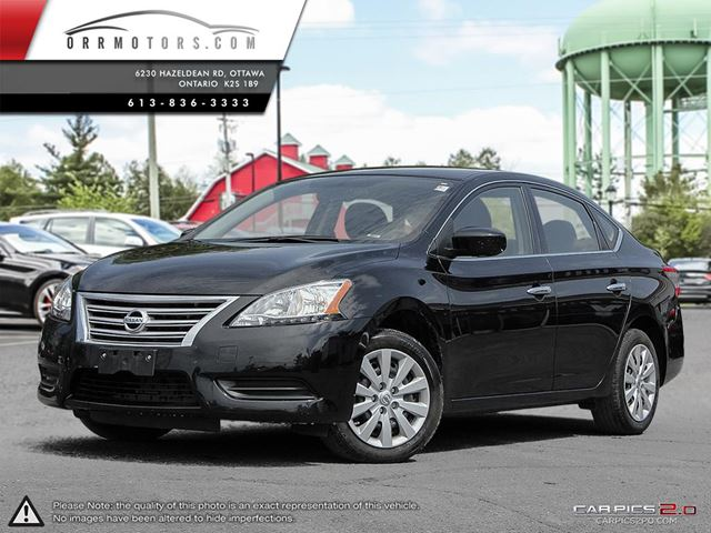 2014 nissan sentra sv black orr motors. Black Bedroom Furniture Sets. Home Design Ideas