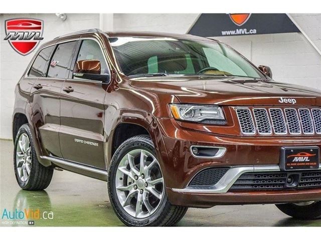 2015 Jeep Grand Cherokee Summit in Oakville, Ontario