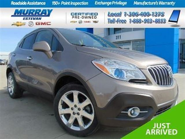 2013 Buick Encore Leather in Estevan, Saskatchewan