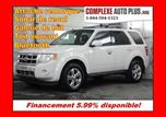 2010 Ford Escape Limited V6 3.0L 4x4 AWD *Cuir, Toit, Mags chromé in Saint-Jerome, Quebec