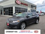 2013 Toyota Venza LEATHER ALLOYS ONE OWNER in Grimsby, Ontario