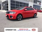 2010 Kia Forte Koup SX LEATHER SUNROOF ALLOYS in Grimsby, Ontario