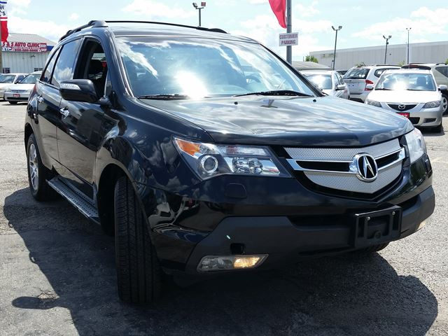 2009 acura mdx tech pkg pickering ontario used car for sale 2539605. Black Bedroom Furniture Sets. Home Design Ideas