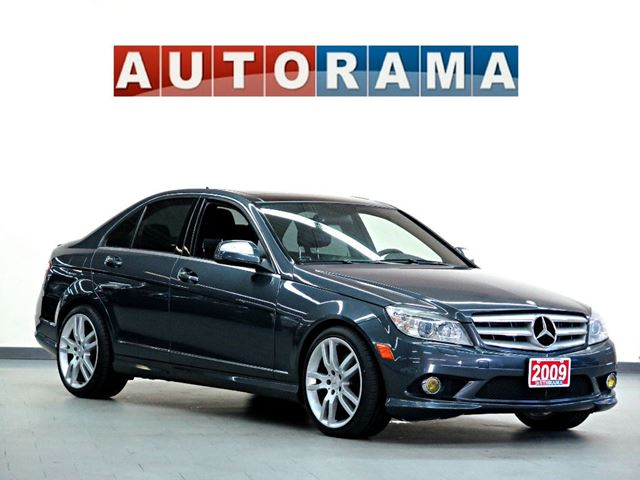 2009 mercedes benz c class c350 4matic awd navigation. Black Bedroom Furniture Sets. Home Design Ideas