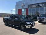 2014 Nissan Frontier SL Crew Cab, 4X4,Leather,Navigation,Camera in Bolton, Ontario