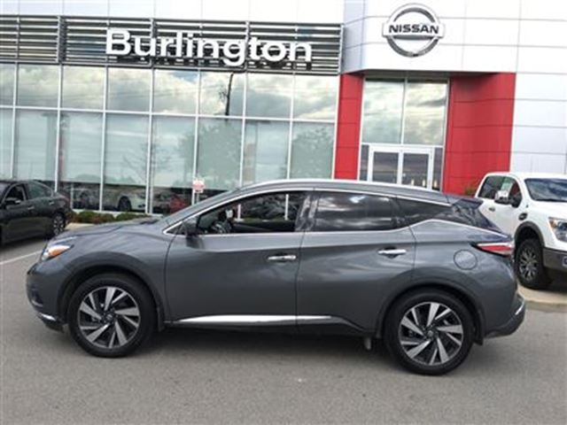 2016 nissan murano platinum grey burlington nissan. Black Bedroom Furniture Sets. Home Design Ideas