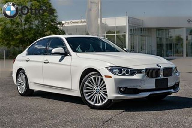 2014 Bmw 328i Xdrive Sedan White Otto S Bmw Centre