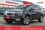 2012 Acura MDX Technology Package SH-AWD (A6) in Whitby, Ontario