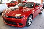 2014 Chevrolet Camaro 2SS CONVERTIBLE RED ROCK LOW KM LOADED FINANCE AVAILABLE in Edmonton, Alberta