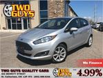 2015 Ford Fiesta SE 16INCH ALLOYS HARD TOP in St Catharines, Ontario
