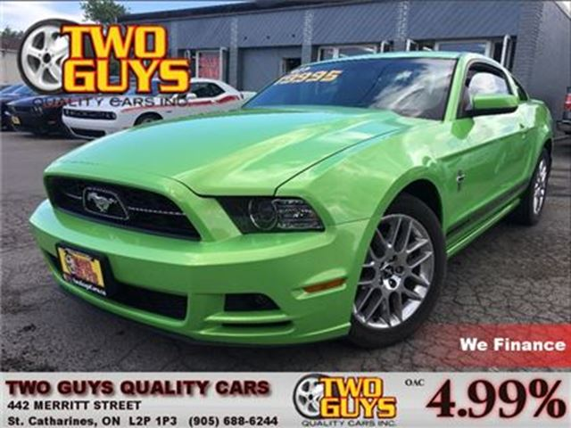 2014 Ford Mustang GOTTA HAVE IT GREEN! TURN SOME HEADS! in St Catharines, Ontario