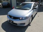 2010 Honda Civic 5-SPEED MANUAL 'GREAT VALUE' DX-COUPE EDITION 5 in Bradford, Ontario