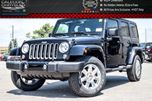 2016 Jeep Wrangler Unlimited NEW Car Sahara 4x4 Dual Top Navi R-Start Heated front Seat 18Alloy Rims in Bolton, Ontario