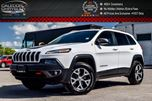 2014 Jeep Cherokee Trailhawk 4x4 Navi Pano Sunroof R-Start Trailer Tow Group 17Alloy Rims in Bolton, Ontario