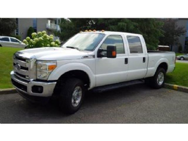 2014 ford super duty f 250 crew cab 4x4 xlt 6 2l ready to work white lease busters. Black Bedroom Furniture Sets. Home Design Ideas