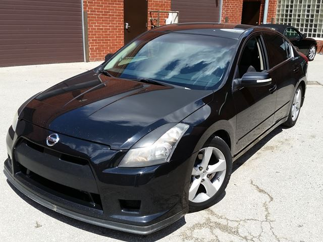 2007 Nissan Altima 35se Black Concord Automotive Solutions
