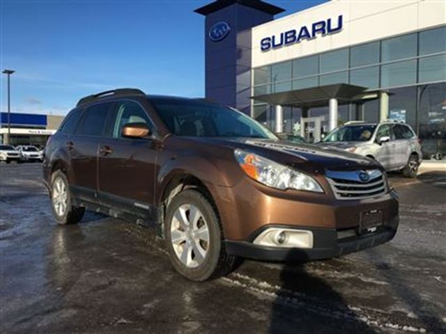 2011 subaru outback 3 6r limited kingston ontario used. Black Bedroom Furniture Sets. Home Design Ideas