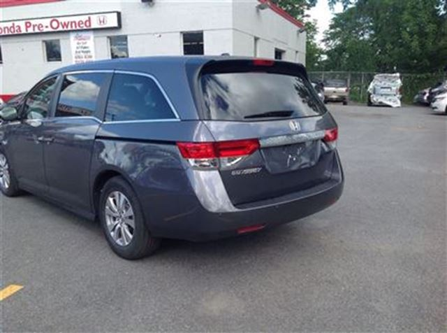 2014 honda odyssey ex l ottawa ontario used car for sale 2547101. Black Bedroom Furniture Sets. Home Design Ideas