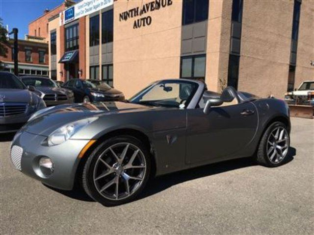 2006 PONTIAC SOLSTICE Convertible, Alloys, Low KM! PRICE REDUCED! in Calgary, Alberta