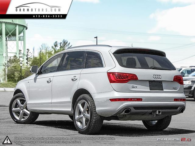 2013 audi q7 3 0 s line premium quattro stittsville ontario car for sale 2547564. Black Bedroom Furniture Sets. Home Design Ideas