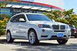 2013 BMW X3 28i Leather Interior, Heated/Power Front Seats, in Richmond, British Columbia