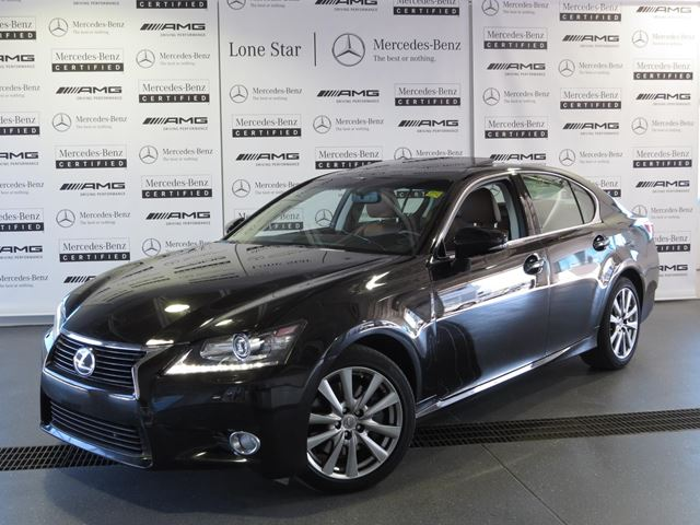 2013 lexus gs 350 awd 6a starlight black mica lone star mercedes benz. Black Bedroom Furniture Sets. Home Design Ideas
