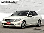 2014 Mercedes-Benz C-Class AWD, Leather and more! in Waterloo, Ontario