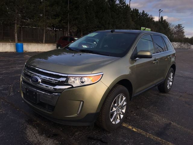 2013 ford edge limited cayuga ontario used car for sale 2547920. Black Bedroom Furniture Sets. Home Design Ideas