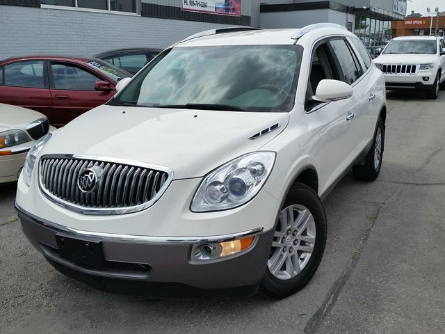 2009 buick enclave cx white br auto sales. Black Bedroom Furniture Sets. Home Design Ideas