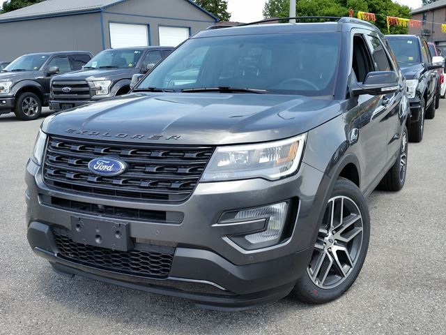 2020 Ford Explorer Sport Steel | TAYLOR FORD - NEW CAR | Wheels.ca