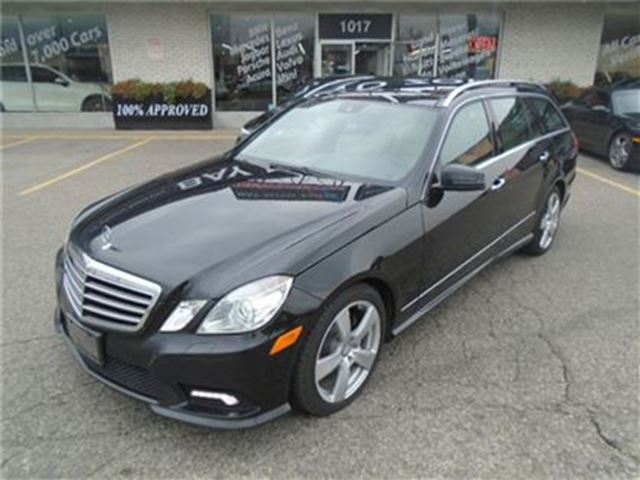 Used 2011 mercedes benz e class v 6 cy 350 4matic 7 for Used mercedes benz toronto