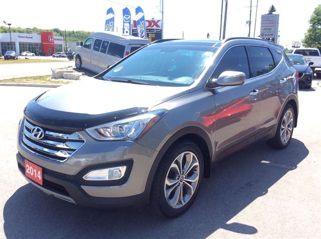 used 2014 hyundai santa fe limited navigation panoramic roof one local owen sound. Black Bedroom Furniture Sets. Home Design Ideas