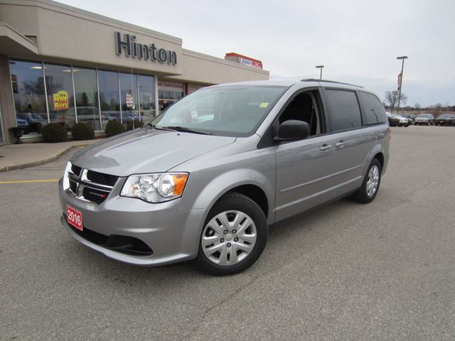 2016 dodge grand caravan sxt sto go grey hinton dodge. Black Bedroom Furniture Sets. Home Design Ideas