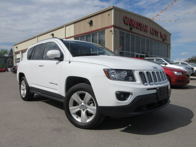 2015 jeep compass 4x4 high altitude leather roof 17k stittsville ontario car for sale. Black Bedroom Furniture Sets. Home Design Ideas