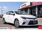 2015 Toyota Corolla 4-Door Sedan LE Cvti-S *Auto*, Camera, Bluetooth, in Bolton, Ontario