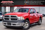 2013 Dodge RAM 1500 ST 4X4 Tow Hitch Tonneau Cover BedLiner R.Start ACCIDENT FREE 17Alloys in Thornhill, Ontario