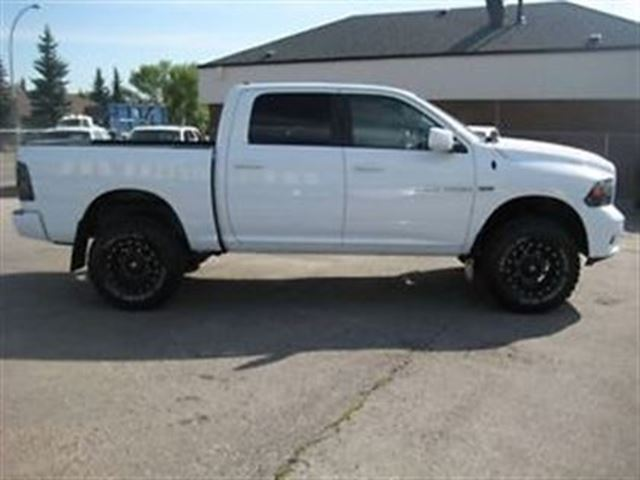 used 2012 ram 1500 sport custom lifted truck call. Black Bedroom Furniture Sets. Home Design Ideas