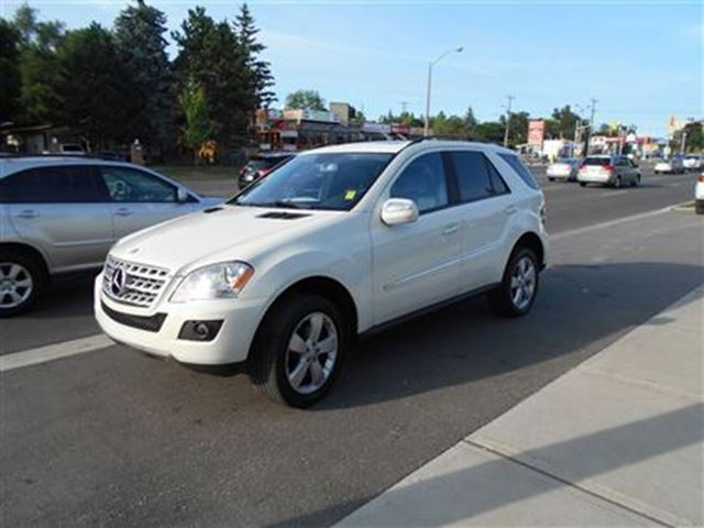 2009 mercedes benz m class leather sunroof scarborough for 2009 mercedes benz ml350 price