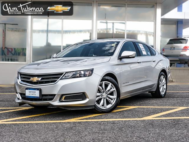 2016 chevrolet impala 2lt ottawa ontario used car for sale 2552185. Black Bedroom Furniture Sets. Home Design Ideas