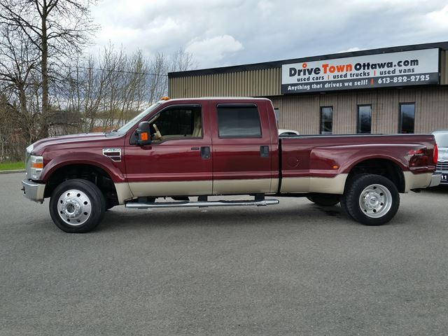 2008 ford f 450 lariat crew cab dually 4x4 diesel ottawa. Black Bedroom Furniture Sets. Home Design Ideas