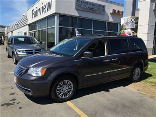 2015 Chrysler Town Amp Country Touring L Grey Fairview