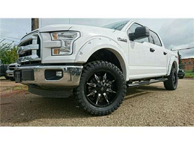 2016 Ford F-150 XLT Custom Lifted Truck! Call Today! White ...