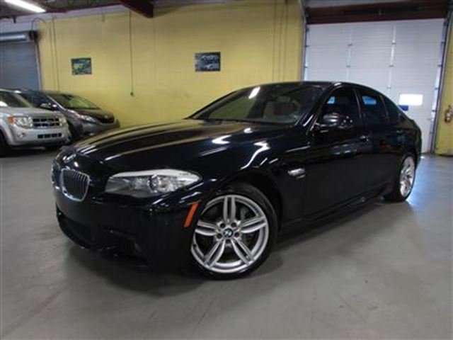 2012 bmw 535i xdrive m sport pkg navigation rear view. Black Bedroom Furniture Sets. Home Design Ideas