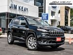 2015 Jeep Cherokee LIMITED 4X4 W/NAV, V6, LEATHER in Ottawa, Ontario