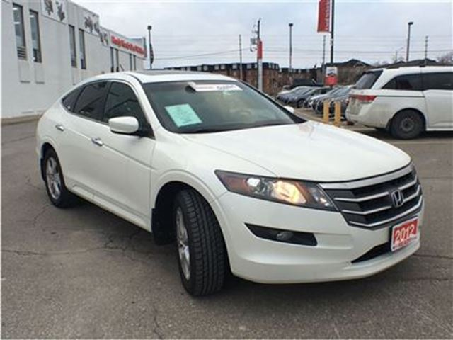 2012 honda crosstour ex l 4wd leather roof new tires mississauga ontario used car for sale. Black Bedroom Furniture Sets. Home Design Ideas
